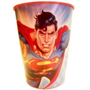 Animated Super-Man Keepsake Favor Souvenir Cup